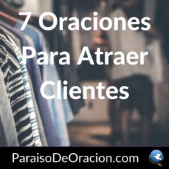 Oración para atraer clientes