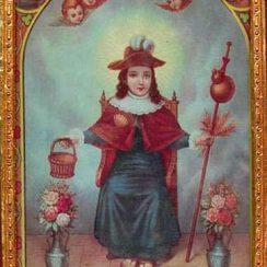 Oracion al santo niño de atocha