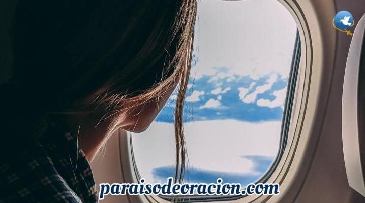 Oración cuando sales de viaje